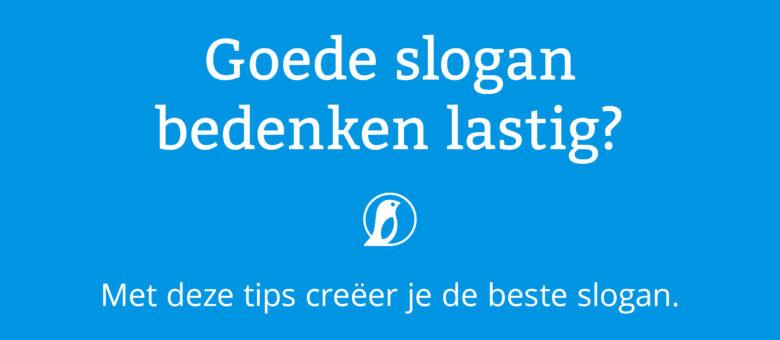 Goede slogan bedenken lastig? Lees snel verder.